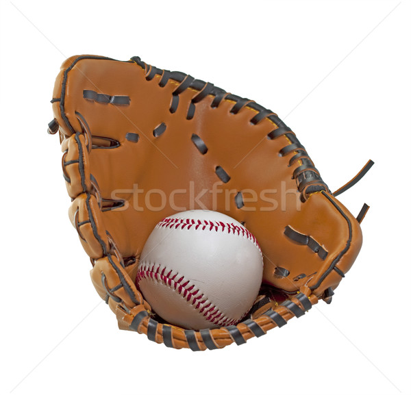 Ball and glove Stock photo © Koufax73