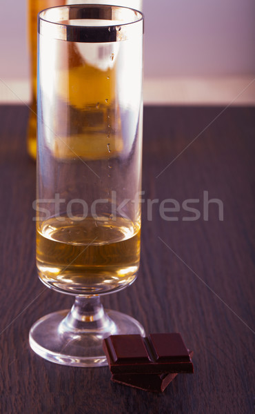Whisky and chocolate Stock photo © Koufax73