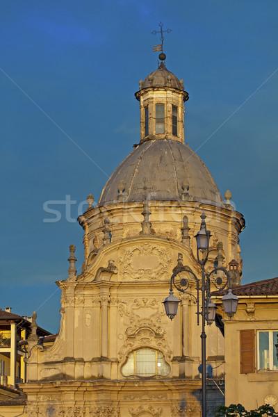 Sky above a church Stock photo © Koufax73