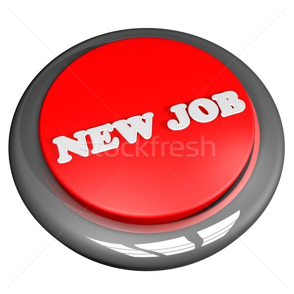 New Job button Stock photo © Koufax73