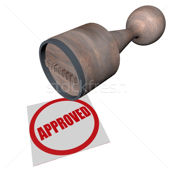 Approved Stock photo © Koufax73