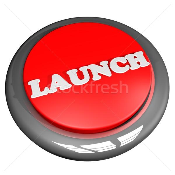Launch button Stock photo © Koufax73