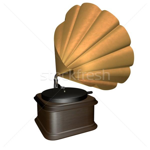Grammophone Stock photo © Koufax73