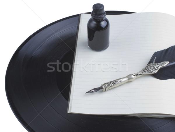 Songwriting Stock photo © Koufax73