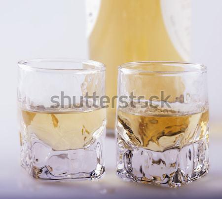 виски два серый квадратный изображение древесины Сток-фото © Koufax73