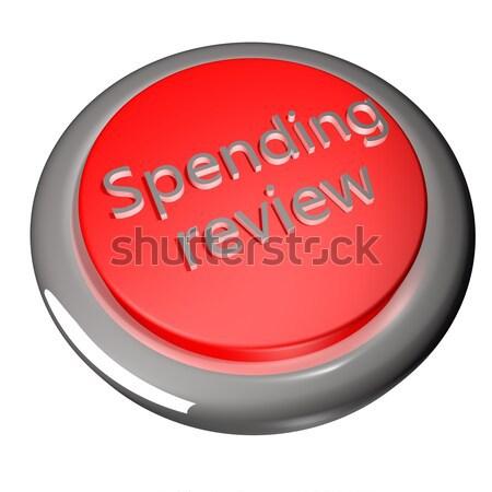 Antipatia palavra vermelho botão isolado branco Foto stock © Koufax73