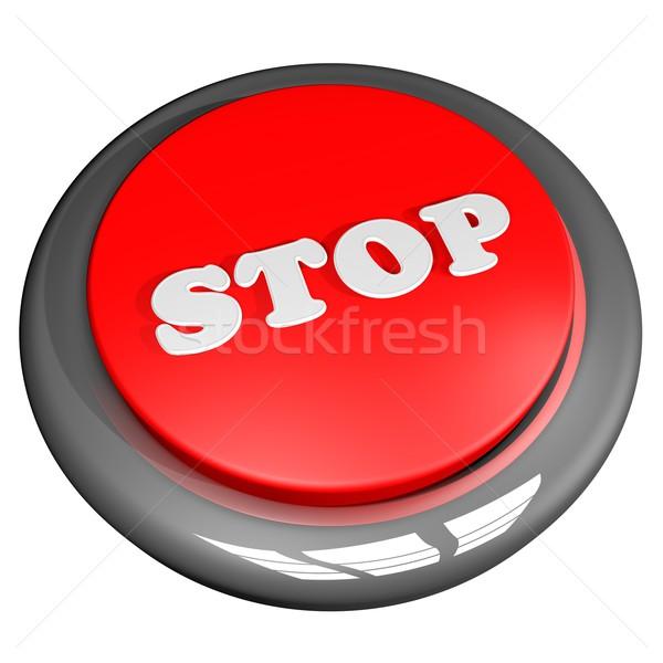 Stop button Stock photo © Koufax73