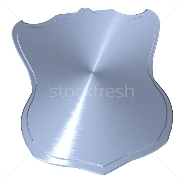 металл изолированный белый 3d визуализации дизайна знак Сток-фото © Koufax73