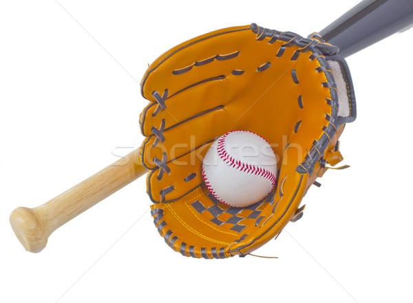Bat, ball and glove Stock photo © Koufax73
