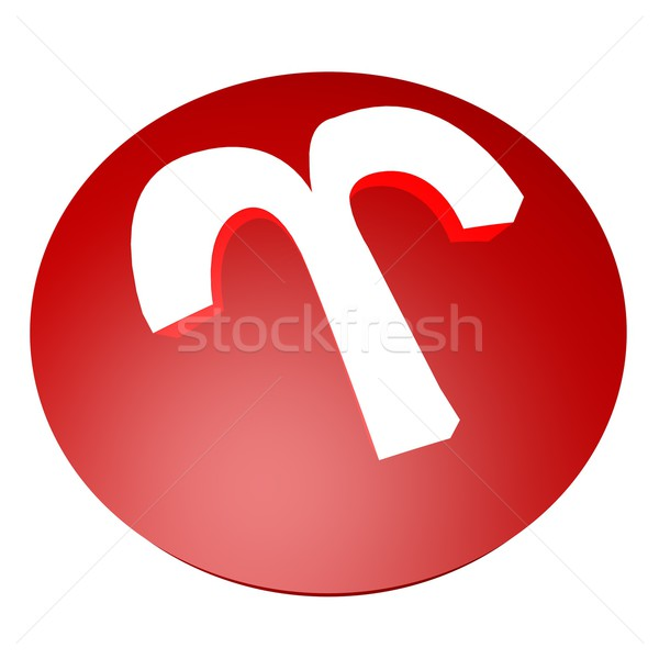 Aries symbol Stock photo © Koufax73
