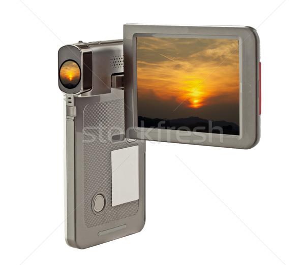 Sunset on camera Stock photo © Koufax73
