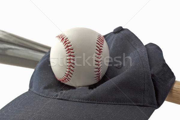 野球 帽子 ボール チーム ゲーム オブジェクト ストックフォト © Koufax73