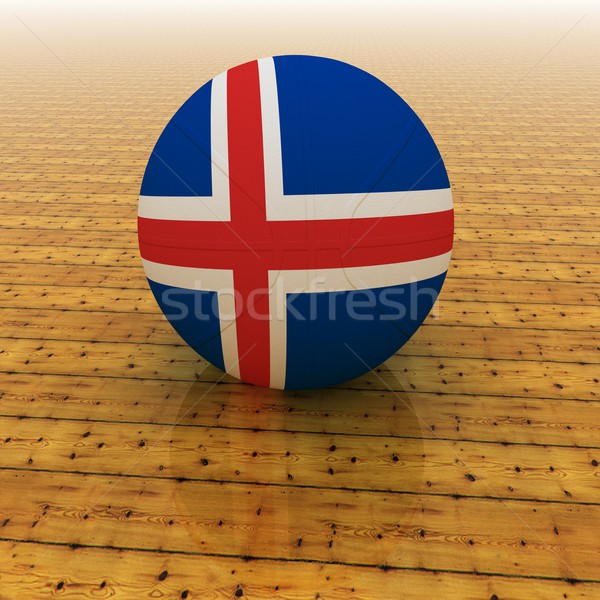 Iceland basketball Stock photo © Koufax73
