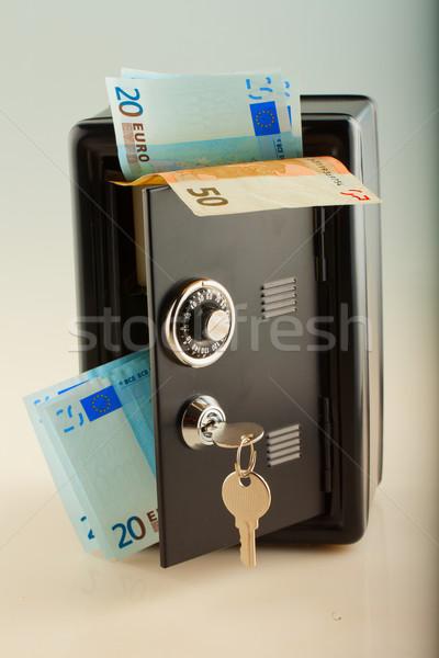 Strongbox full of money Stock photo © Koufax73