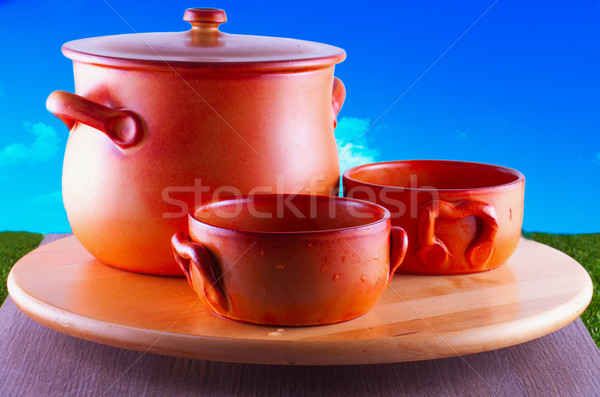 Crock pots Stock photo © Koufax73