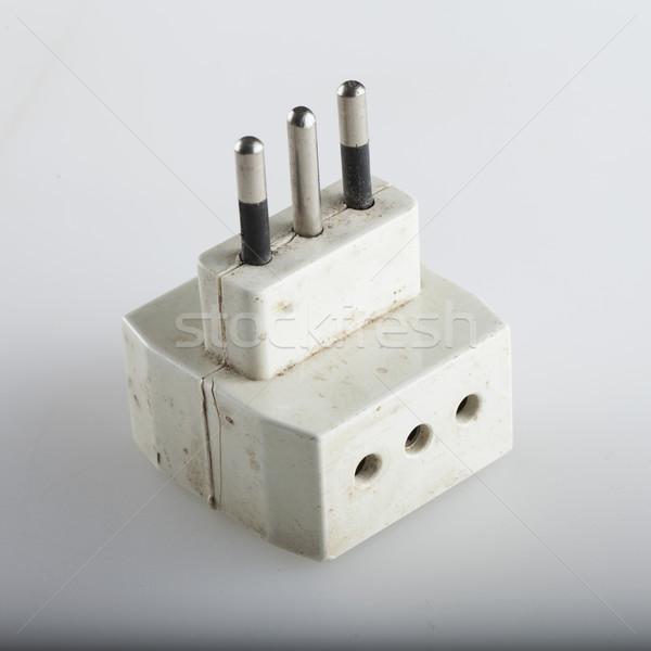 Electrical adapter Stock photo © Koufax73