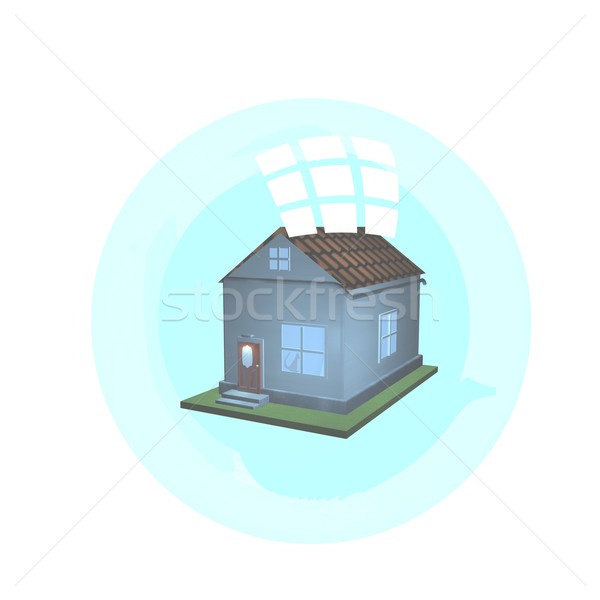 House in a bubble Stock photo © Koufax73