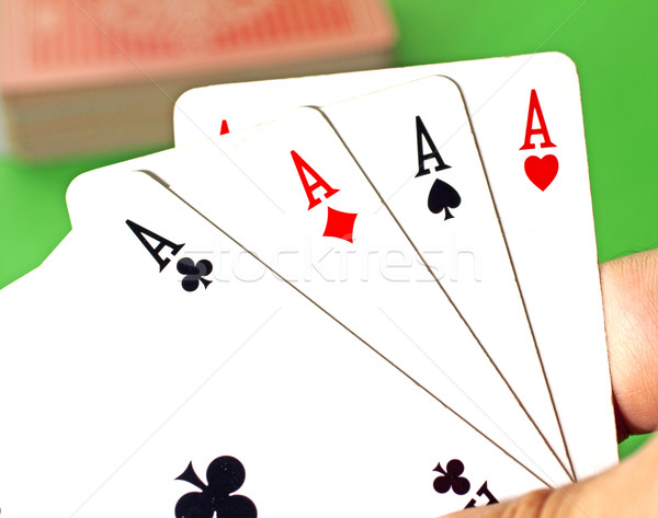 Four Aces Stock photo © Koufax73