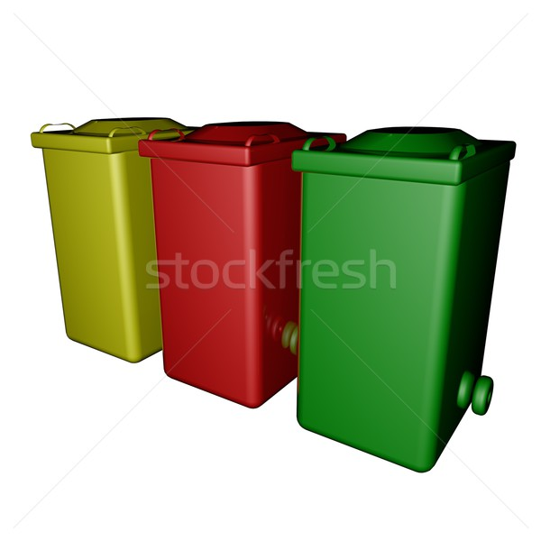 Dumpsters Stock photo © Koufax73