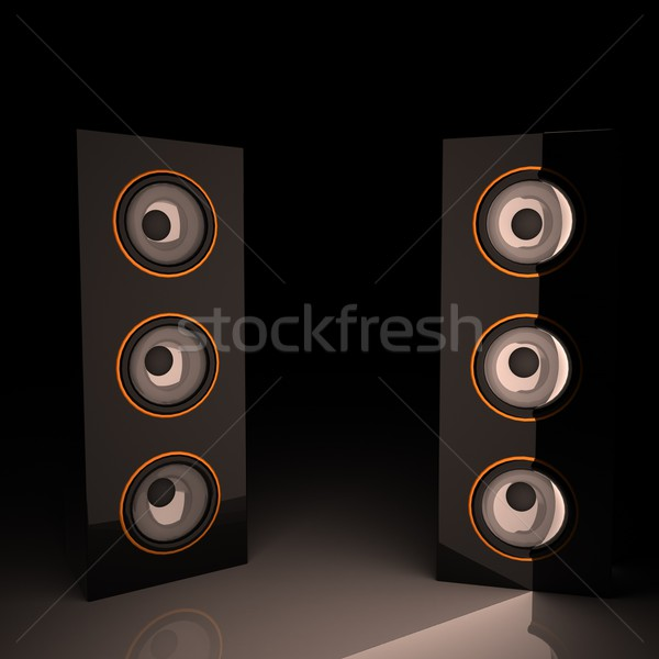 Amps Stock photo © Koufax73