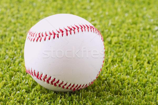 Stock fotó: Baseball · zöld · fű · mező · sport · űr · labda