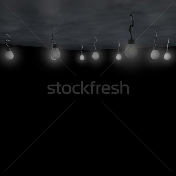 çok kadar tavan 3d render enerji elektrik Stok fotoğraf © Koufax73