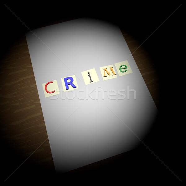 Crime Stock photo © Koufax73
