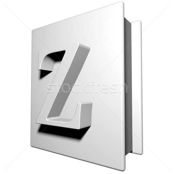 Stock photo: Book Z