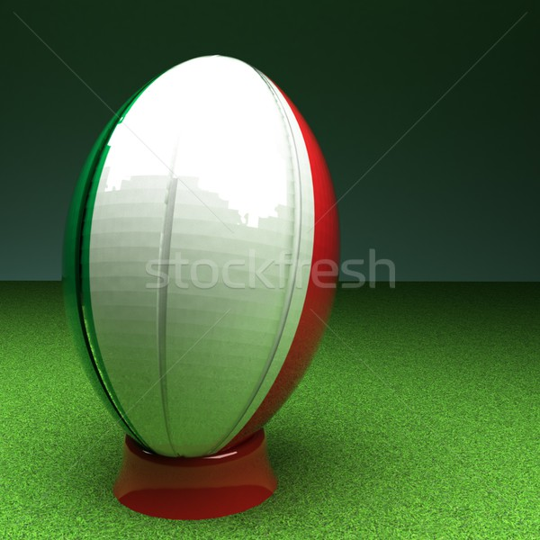 Italy rugby Stock photo © Koufax73