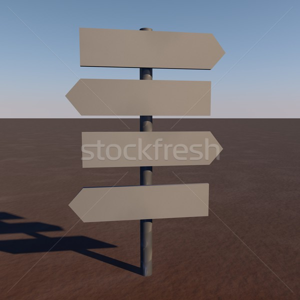 Directional signs Stock photo © Koufax73
