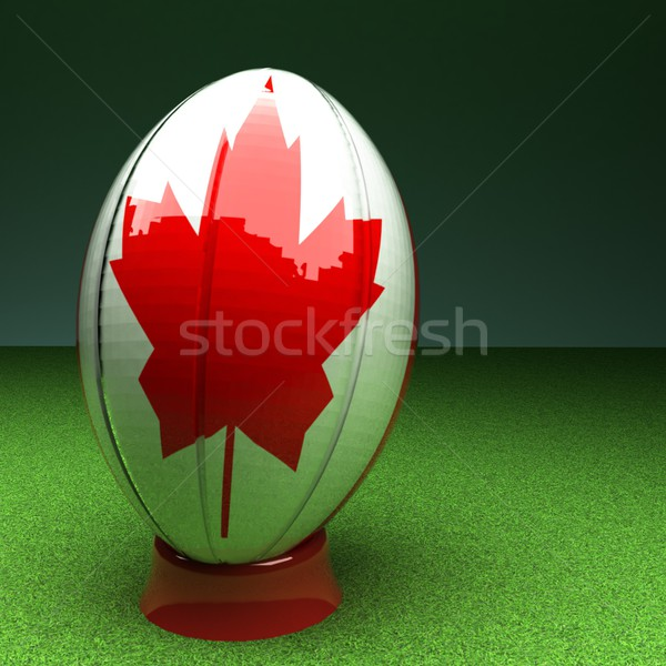 Canada rugby Stock photo © Koufax73