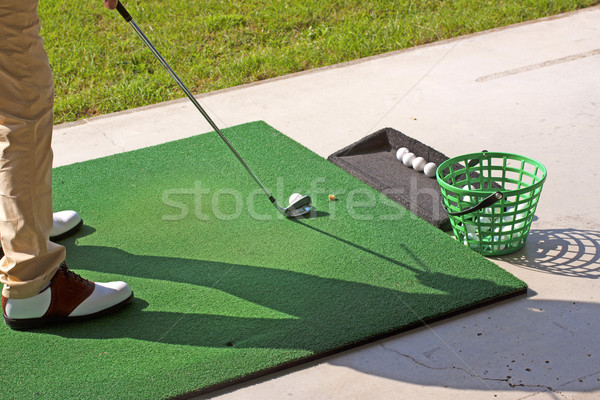 Golf practice Stock photo © Koufax73