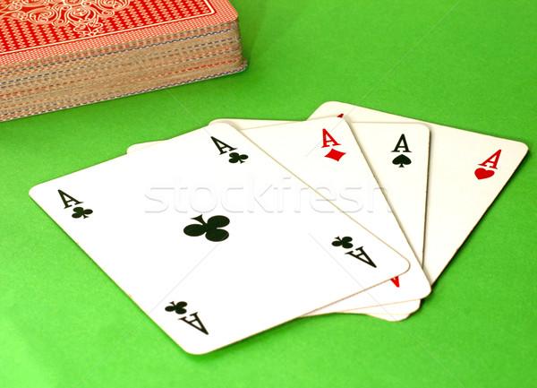 Four Aces Stock photo © Koufax73