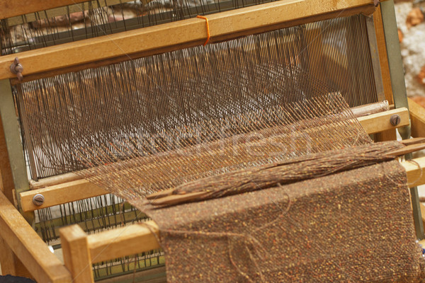 Weaving loom Stock photo © Koufax73