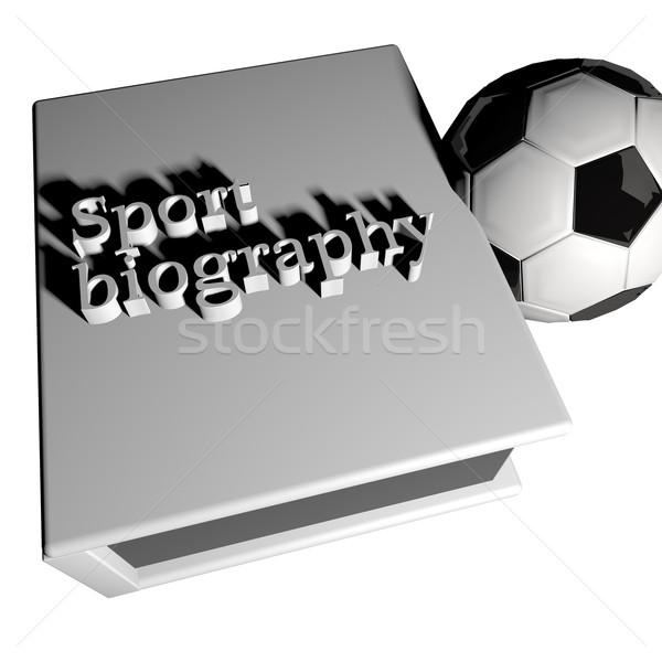 Sport biography Stock photo © Koufax73