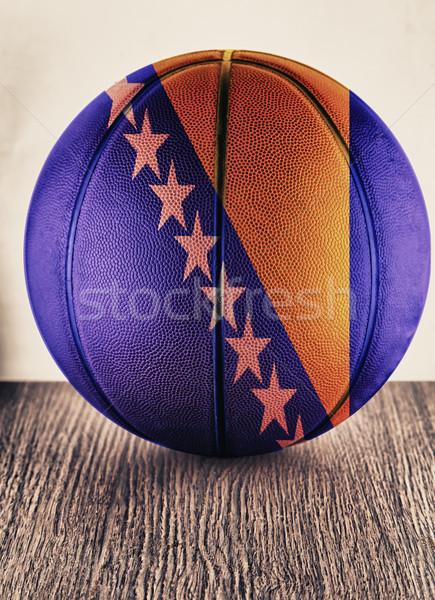 Bosnia Herzegovina basketball Stock photo © Koufax73