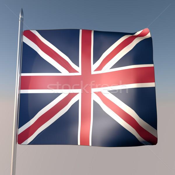 UK flag Stock photo © Koufax73