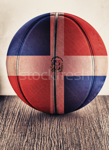 Dominican Republic basketball Stock photo © Koufax73