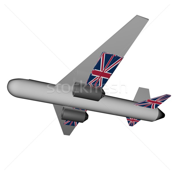UK Plane Stock photo © Koufax73