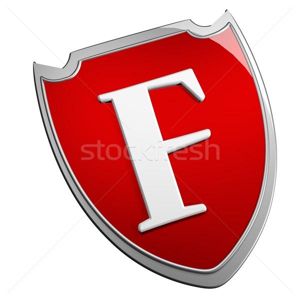 F Shield Stock photo © Koufax73
