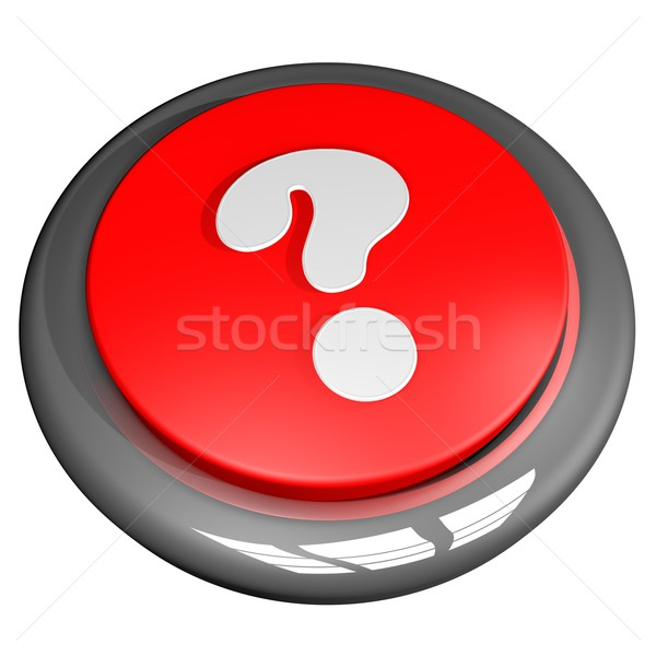 Interrogative point button Stock photo © Koufax73