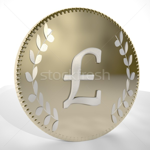 British Pound Stock photo © Koufax73