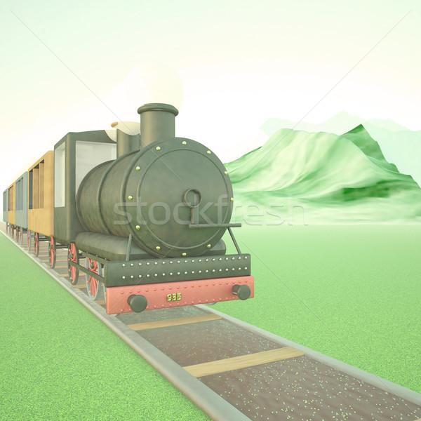 Steam train Stock photo © Koufax73