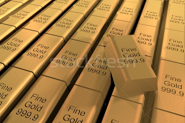 Stock photo: Gold