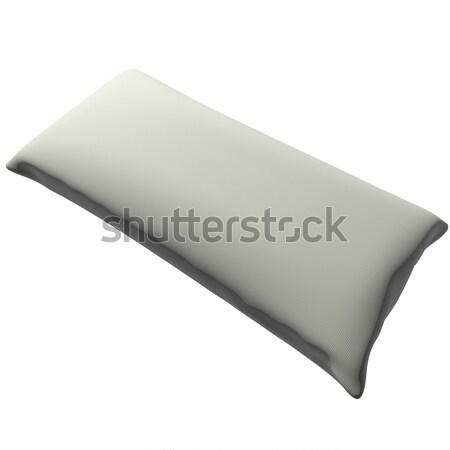 枕 孤立した 白 3dのレンダリング 広場 画像 ストックフォト © Koufax73