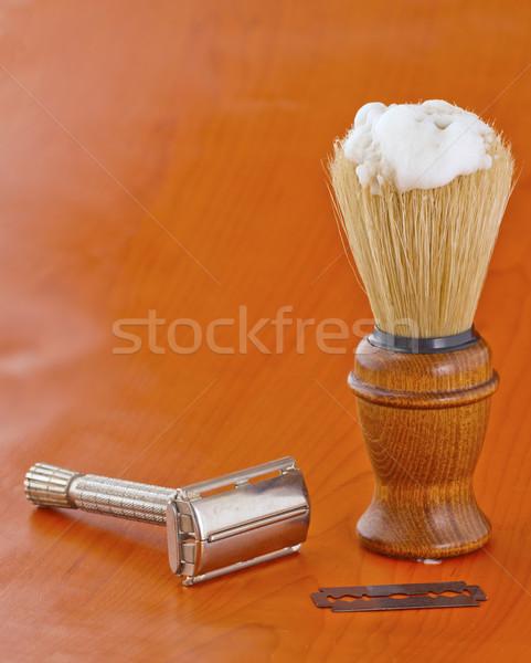 Brush and razor Stock photo © Koufax73