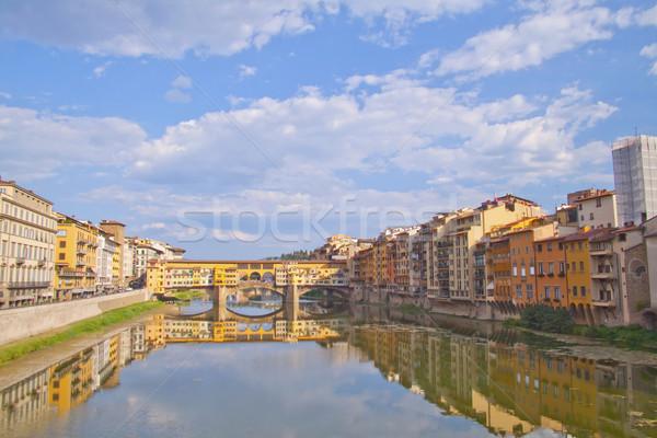 Ponte Vecchio Stock photo © Koufax73