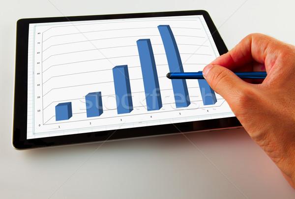 Graph Stock photo © Koufax73