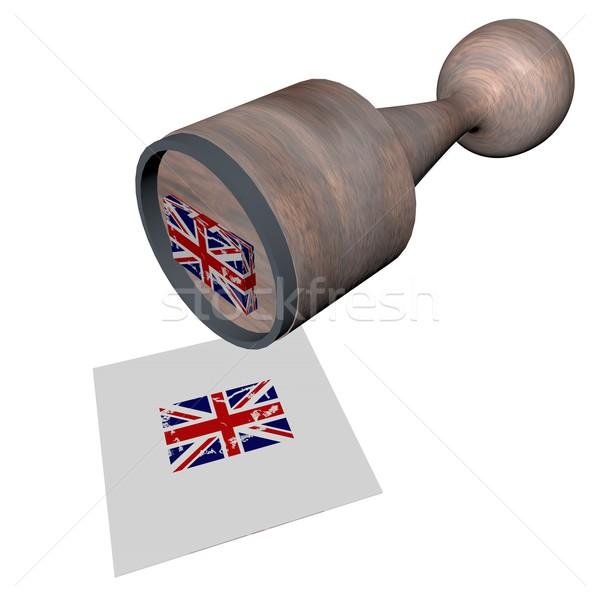 UK Stamp Stock photo © Koufax73