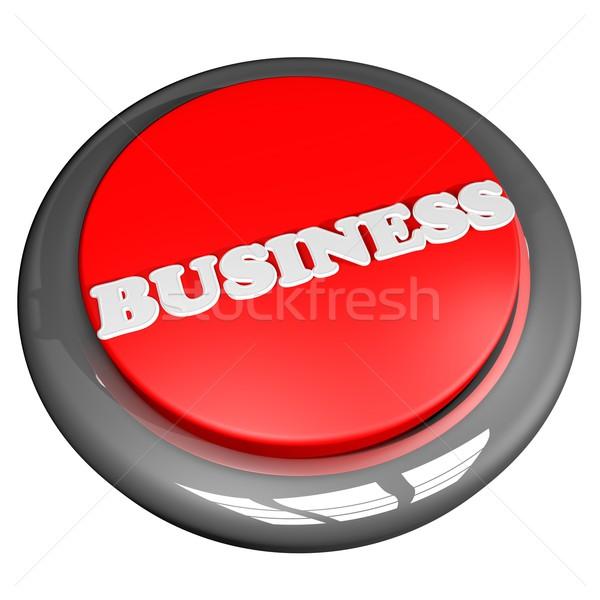 ビジネス ボタン 孤立した 白 広場 画像 ストックフォト © Koufax73